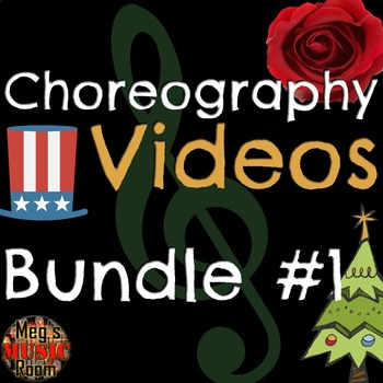 Easy Choreography Videos for 11 Songs! Christmas, Patriotic & Jazz - ELEM Music