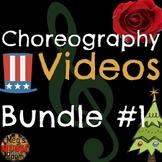 Easy Choreography Videos for 11 Songs! Christmas, Patriotic & Jazz - ELEM Music