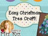 Preschool Christmas Tree Craft!