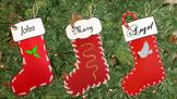 Easy Christmas stocking craft