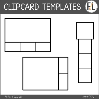 Clip Card Template Teaching Resources | Teachers Pay Teachers