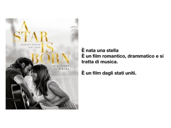 Easy Comprehensible Italian - A Star is Born!
