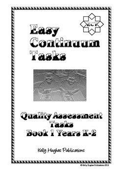 Easy Continuum Tasks Book 1 K-2