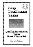 Easy Continuum Tasks Book 1 K-2