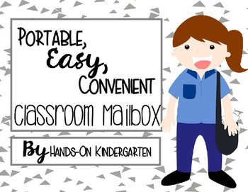 Easy, Convenient and Portable Classroom Mailbox