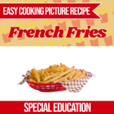 Easy Cooking French Fries Recipe (Independent Living Skills)