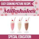 Easy Cooking Milkshake Recipe (Independent Living Skills)