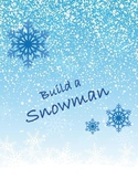 Easy Cutout- Let's Build a Snowman