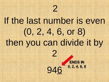 Easy Divisibility Rules