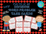 Full Set--Easy Division Word Problem Task Cards