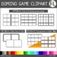 Domino Game Templates - Clipart