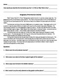 Easy Early Colonies 2 Summaries - United States
