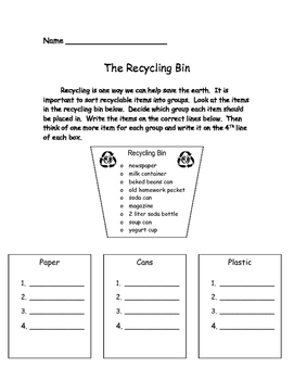 Easy Earth Day Activities