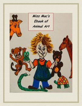 Easy Artsy Ebook of Animal Art Projects for kids
