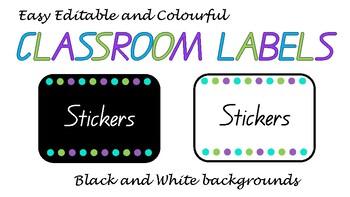 Easy Editable Labels