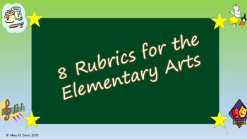 Easy Elementary Arts Assesments