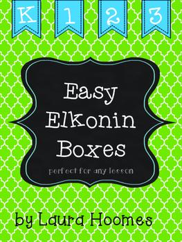 Easy Elkonin Boxes