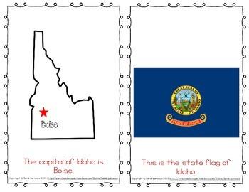 "Emergent Easy Reader Book: ""Idaho"""