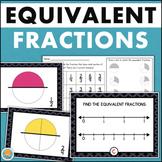 Equivalent Fractions Math Center