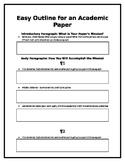 Easy Essay Outline Highschool+