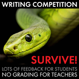 """Writing Competition, """"Survive!"""" Writing Contest, End of Unit Writing, CCSS"""