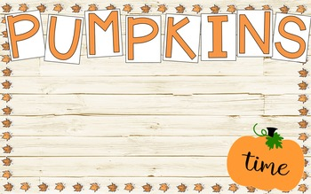 Easy Fall Bulletin Boards
