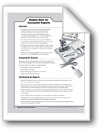 Easy File Folder Reports: Teacher Suggestions