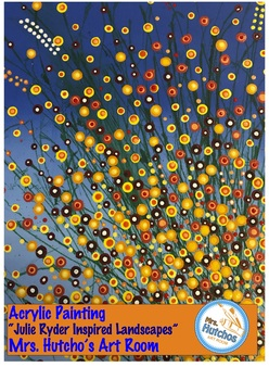 Easy Floral Landscape Painting