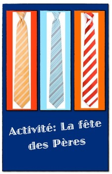 Easy French Father's Day Activity (Fête des Pères)