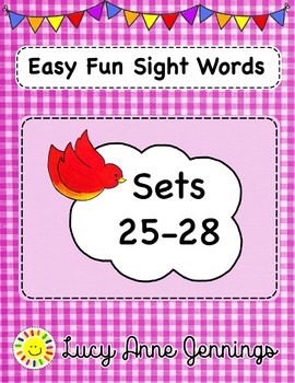Easy Fun Sight Words, Sets 25-28
