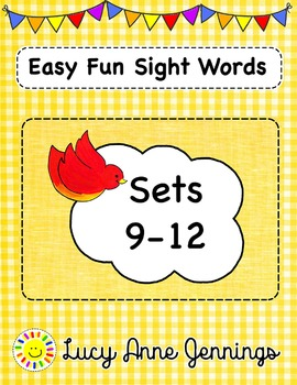 Easy Fun Sight Words, Sets 9-12