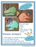 Easy Fun Triceratops Dinosaur Craft for Preschool, Pre-K, and Kindergarten