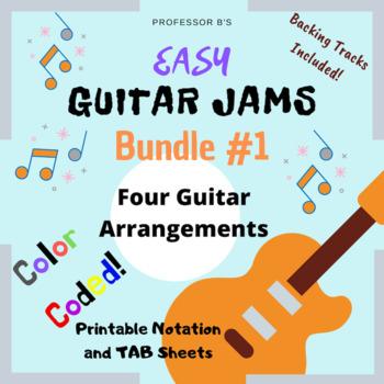 Easy GUITAR JAMS Bundle #1