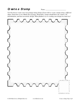 Easy Goin' Art: Create-a-Stamp Design Project