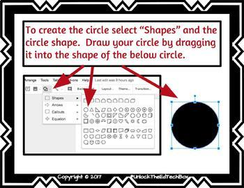 Easy Graphic Design Digital Ladybug - Google Drawing or Google Slides