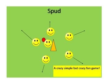 Easy Group Game: Spud