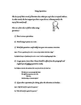 Easy Guide to Using Quotations in an Essay