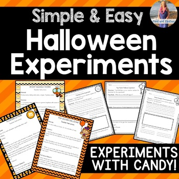 Easy Halloween Experiments with Candy