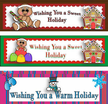 photograph about Printable Bag Toppers named Holiday vacation Items Printable Bag Toppers Freebie