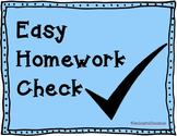 Easy Homework Checker
