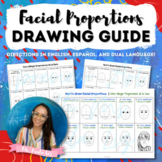 Easy How To Draw Facial Proportions Guide