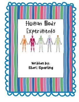 Easy Human Body Experiment Activities