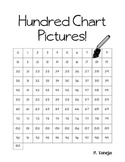 Easy Hundred Chart Pictures Worksheet