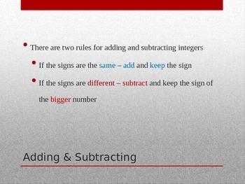 Easy Integers