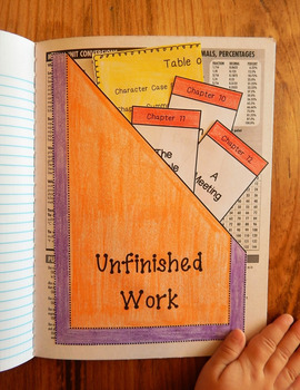 FREEBIE! Interactive Notebook Organizer Pocket, Math, English, Social Studies