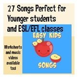 Easy Kids Songs for Preschool and ESL