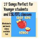 Easy Kids Songs for Preschool and ESL