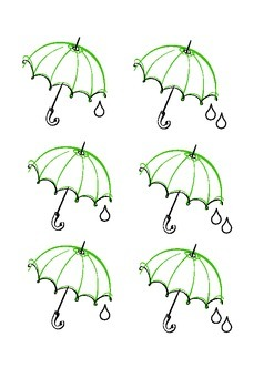 Easy Kodaly Rain Rain Go Away Activity- includes fun sheet.