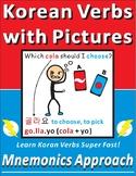 Easy Korean Verbs with Mnemonics