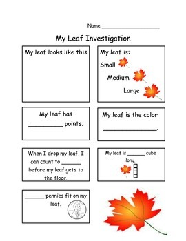 Easy Leaf Investigation